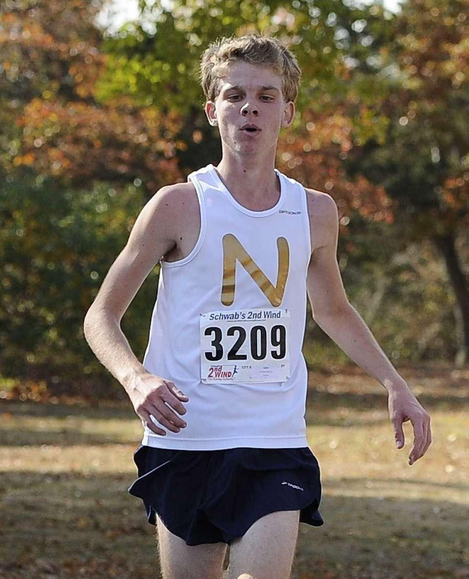 Northport's Tim McGowan places third in the Suffolk