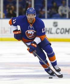 Lubomir Visnovsky skates during a game against the