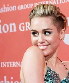 Miley Cyrus attends the 30th Night Of Stars