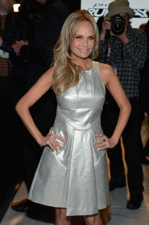 Kristin Chenoweth attends the Project Runway Fall 2013