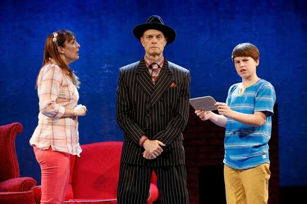 David Hyde Pierce, Julia Murney and Frankie Seratch