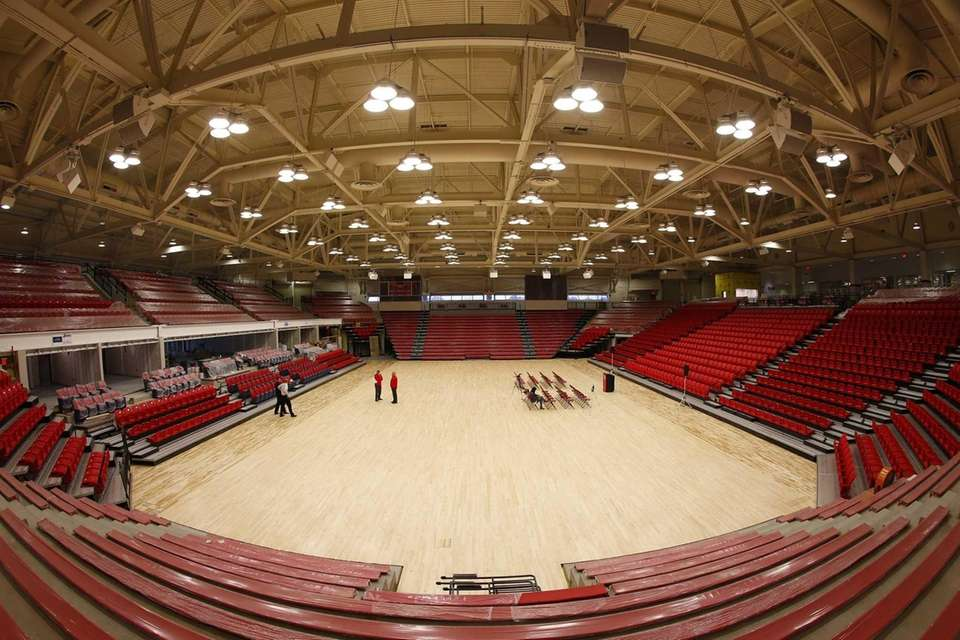 A general view of the Stony Brook Arena