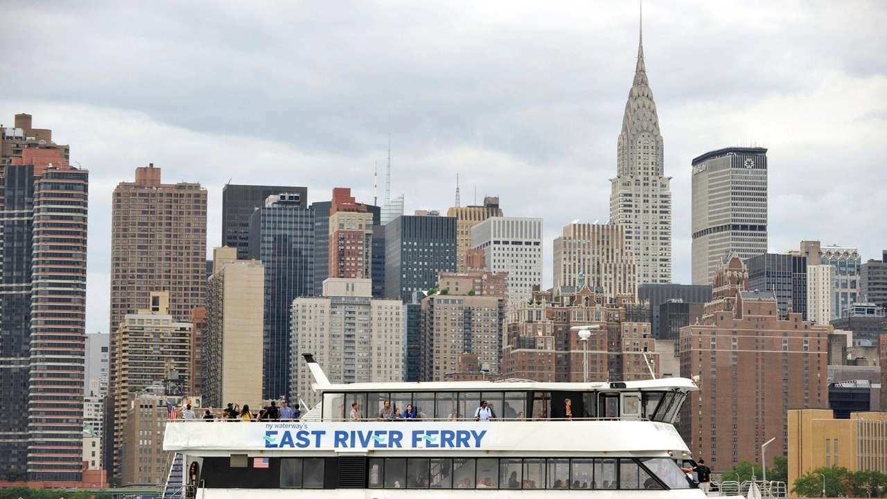 Group floats expansion of NYC ferries | Newsday