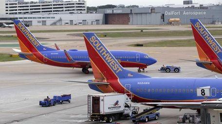 Southwest Airlines said Oct. 24, 2013, that third-quarter