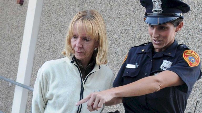School crossing guard Joanne Griffiths, 58, of Blue