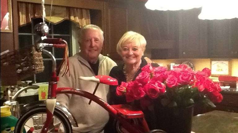Bart and Maryanne Bezyack of Port Jefferson celebrated