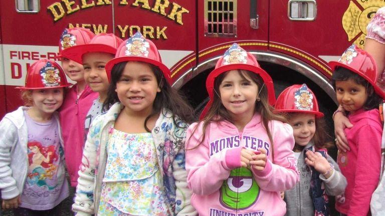 In Deer Park, May Moore Elementary School students