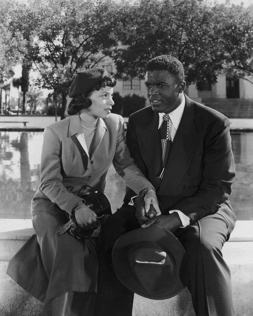 """""""THE JACKIE ROBINSON STORY"""" (1950): By 1950, the"""