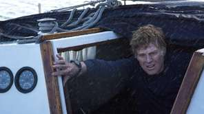 "Robert Redford in J.C. Chandor's ""All Is Lost."""