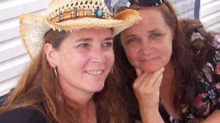 Margaret Mueller and Carole Olkoski, co-owners of the