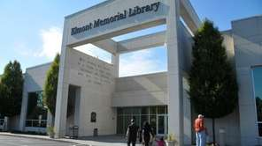 Residents love Elmont's state-of-the-art public library. (Oct. 22,