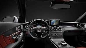 The new C-Class cabin boasts shapely contours and