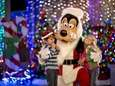 Santa Goofy joins the fun during Disney's Hollywood