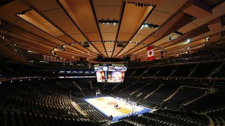 A general view of Madison Square Garden. (Oct.