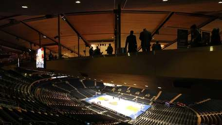 After three years of construction, Madison Square Garden
