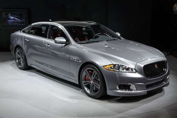 The 2014 Jaguar XJR is the best looking