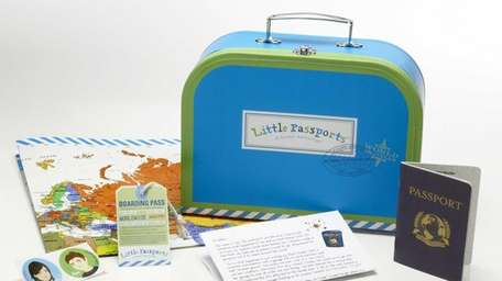 Little Passports is a monthly educational subscription box