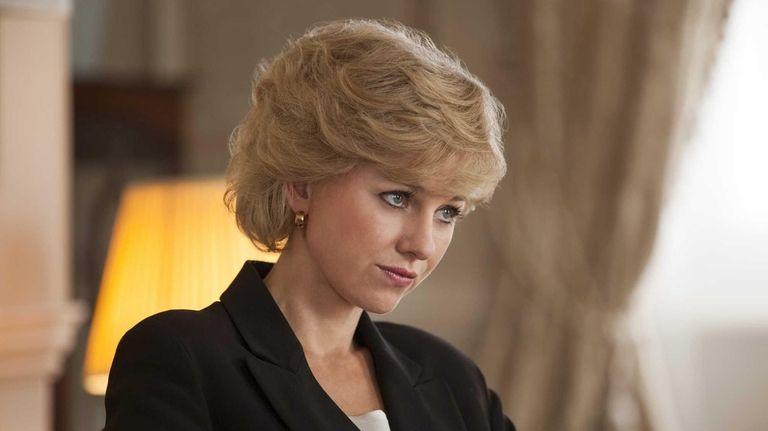 Naomi Watts as Princess Diana in