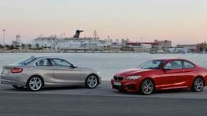 The new BMW 2 Series coupe is 2.8