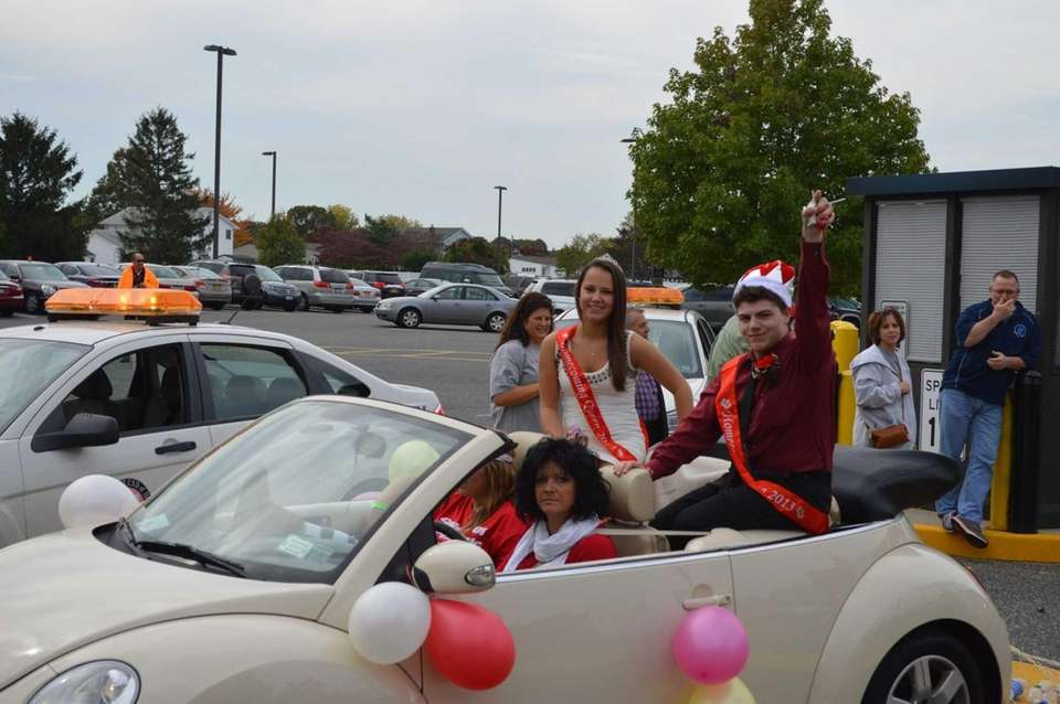 Connetquot High School senior class queen and king