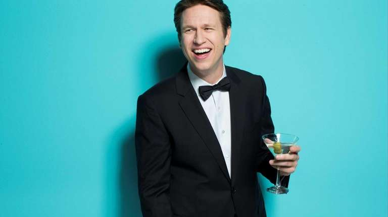 Your host, Pete Holmes.