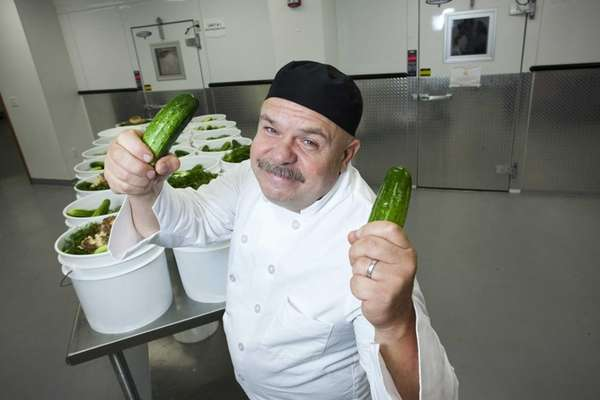 Chef Robert Schaefer, founder of Divine Brine Foods