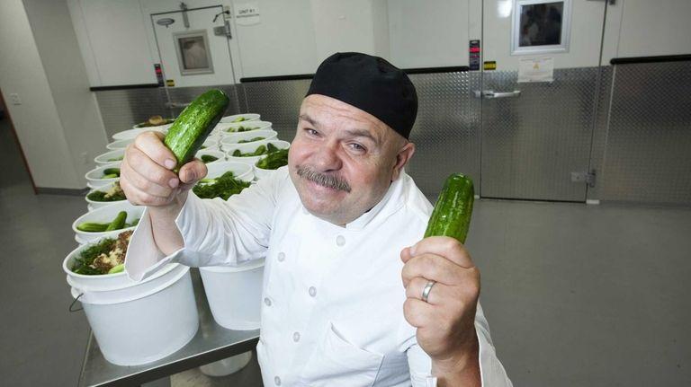 Chef Robert Schaefer, founder of Divine Brine Foods