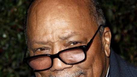 Quincy Jones arrives at the world premiere of