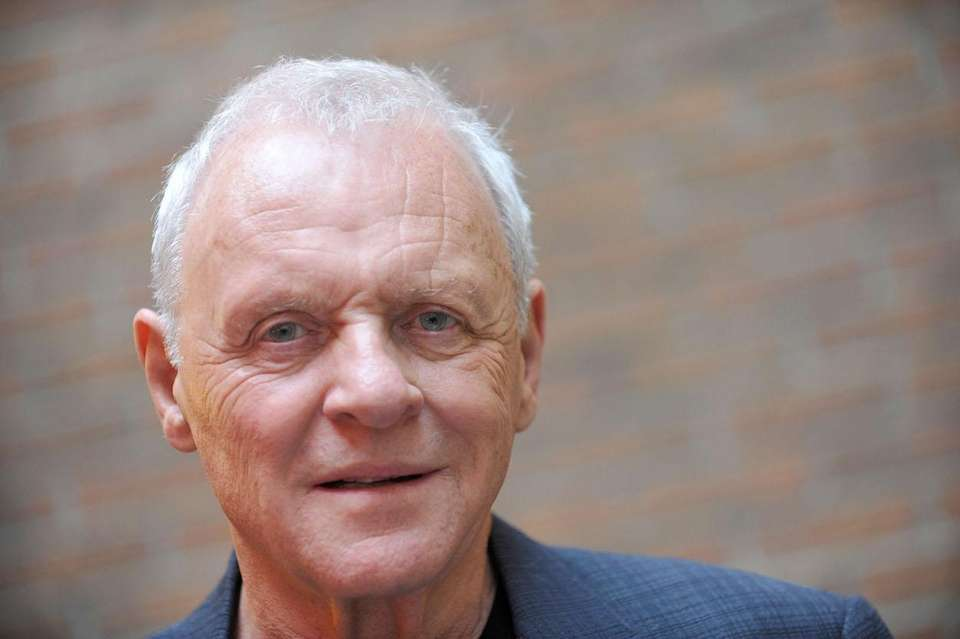 Actor Anthony Hopkins, born Dec. 31, 1937.