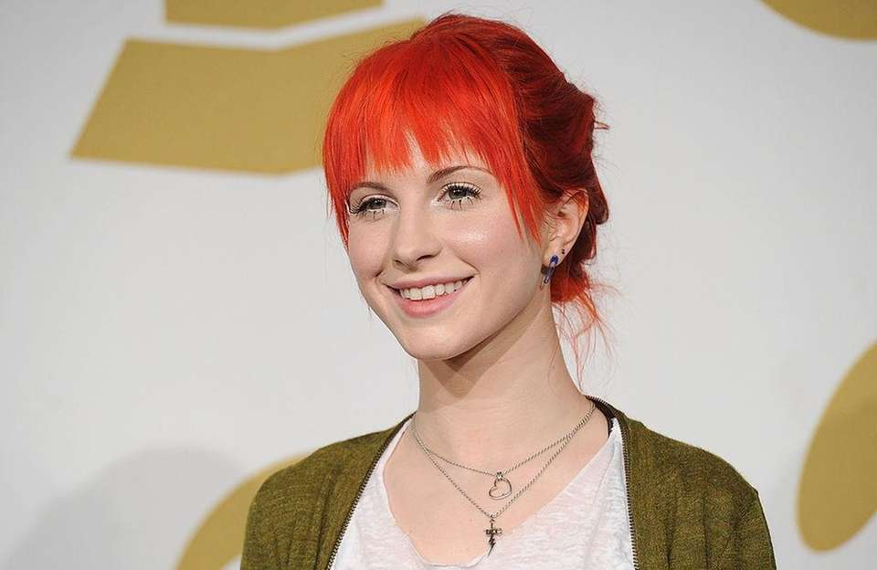 Singer-songwriter Hayley Williams, born Dec. 27, 1988.