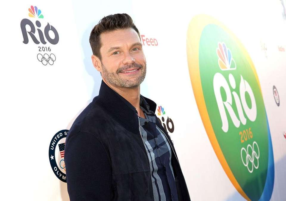 TV and radio personality Ryan Seacrest, born Dec.