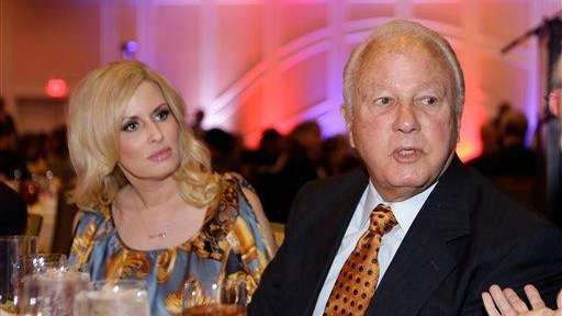 Former Louisiana governor Edwin Edwards and his wife