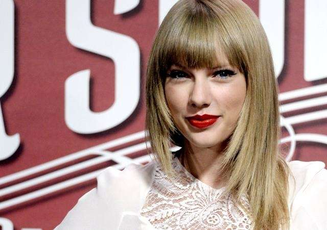 Singer Taylor Swift, born Dec. 13, 1989.