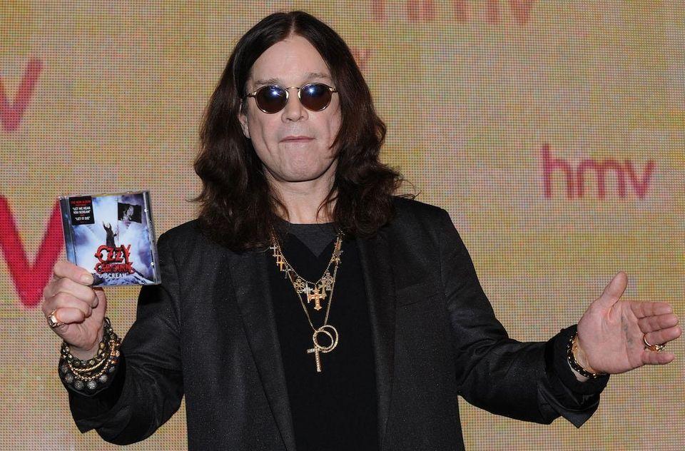 Singer Ozzy Osbourne, born Dec. 3, 1948.