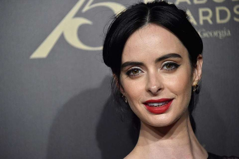 Actress Krysten Ritter, born Dec. 16, 1981.