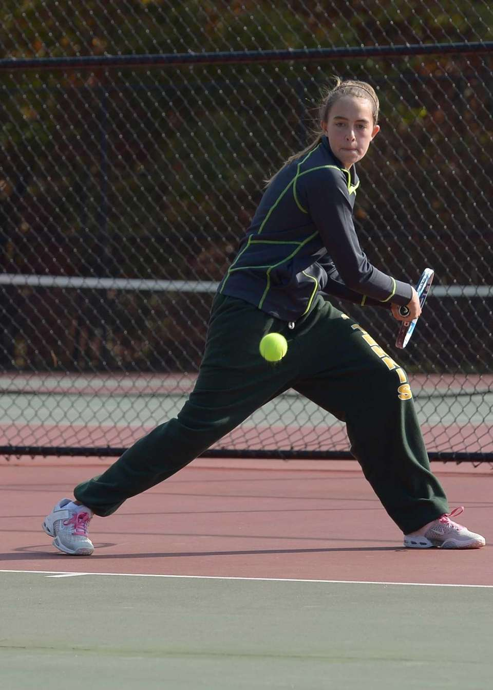 Emily Fernandez of William Floyd looks to return