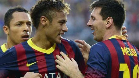 Barcelona's Brazilian forward Neymar da Silva Santos Junior,