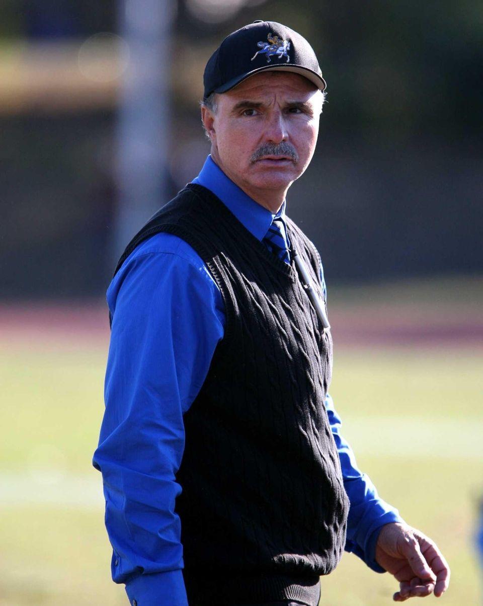 Roosevelt Head Coach Joe Vito is seen during