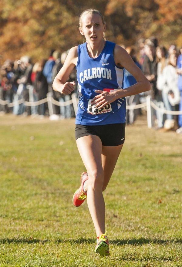 Calhoun's Grace Moore wins the girls Division I