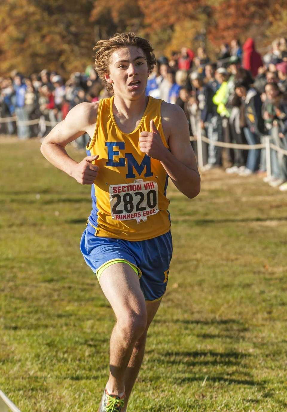 East Meadow's Michael Grady takes second place with