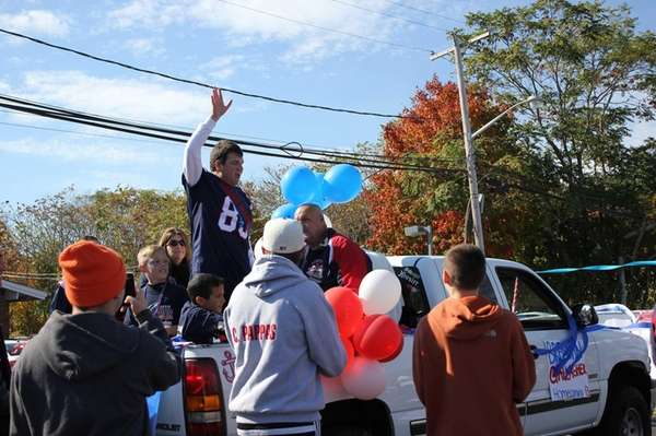 MacArthur High School's first grand marshal, 19-year-old Brendan