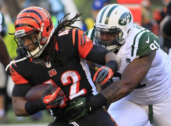 Cincinnati Bengals running back BenJarvus Green-Ellis (no. 42)