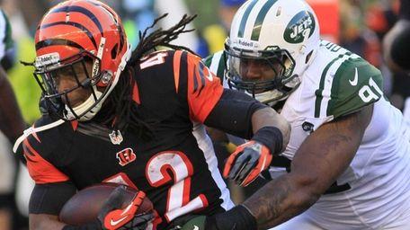 Cincinnati Bengals running back BenJarvus Green-Ellis (no. 42)