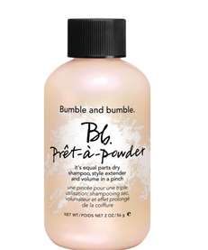 Bumble and bumble's new Pret-a-powder blends clay and