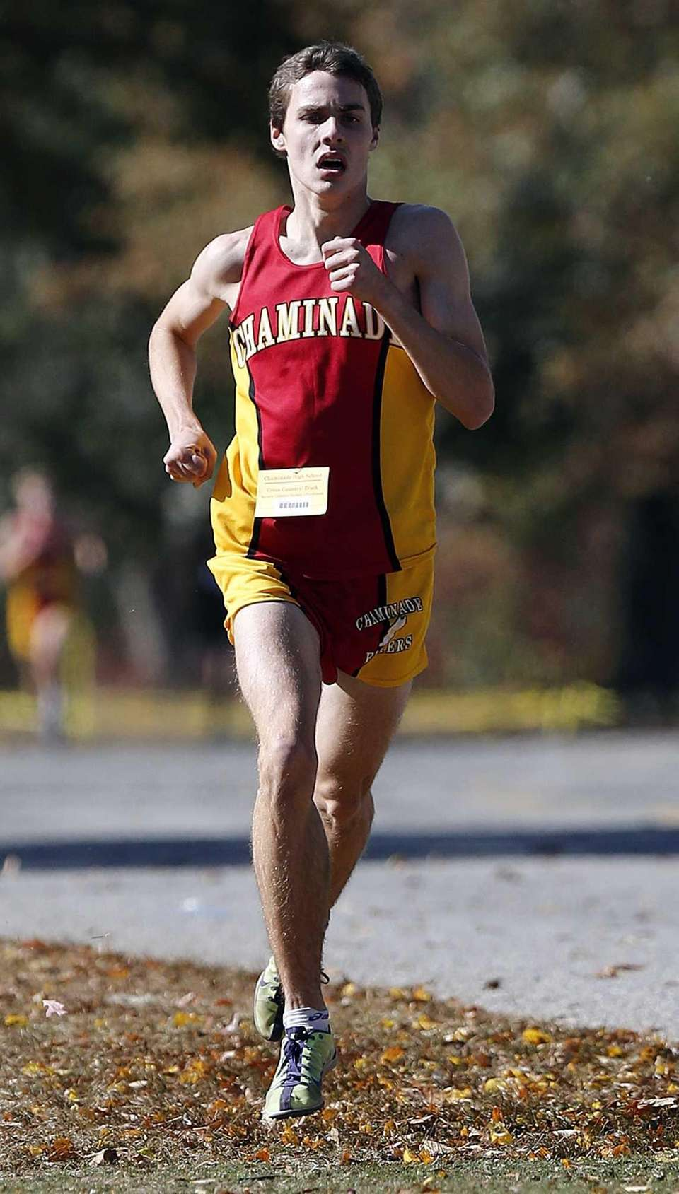 Chaminade's Thomas Slattery finishes first in the boys