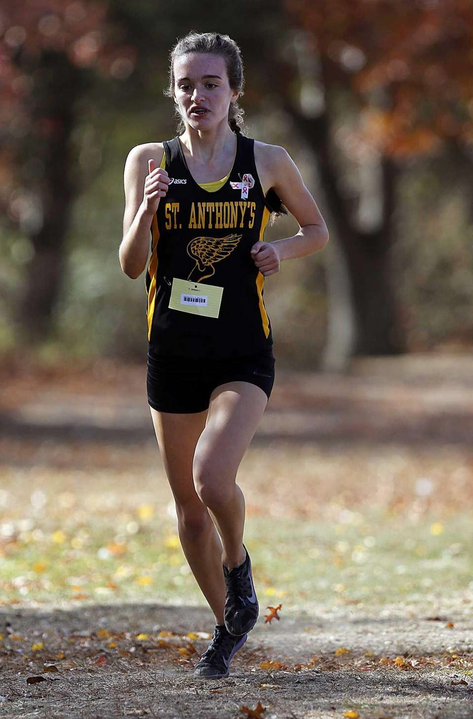 St. Anthony's Stephanie Leo finished sixth in the