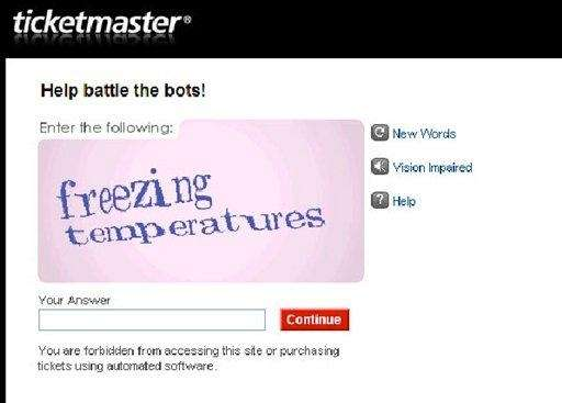 "?CAPTCHA"" puzzles provided by Google Inc. are meant"