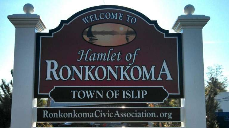 Officials recently celebrated the installation of a sign
