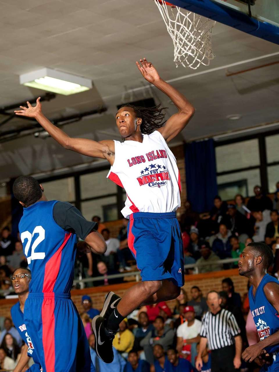 Curtis Jenkins, a Long Island All-Star forward from