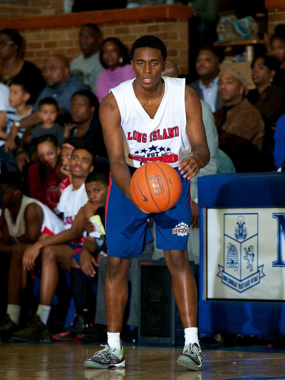 Kobie Eubanks, a Long Island All-Star forward from